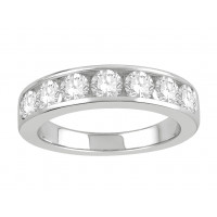18 ct Yellow Gold Ladies Channel Set Eternity Ring set with 1.30 ct of Diamonds.