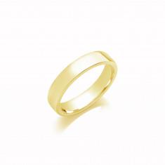 5mm Ladies Light Weight 18ct White Gold Soft Court Wedding Band
