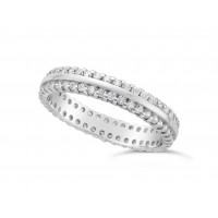 Ladies Platinum Diamond Set Wedding Ring