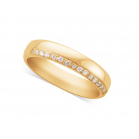 Ladies Platinum Diamond Set Wedding Ring